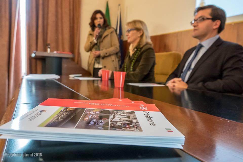 Presentata la Guida Turistica di Frosinone realizzata in collaborazione con MDC Lazio