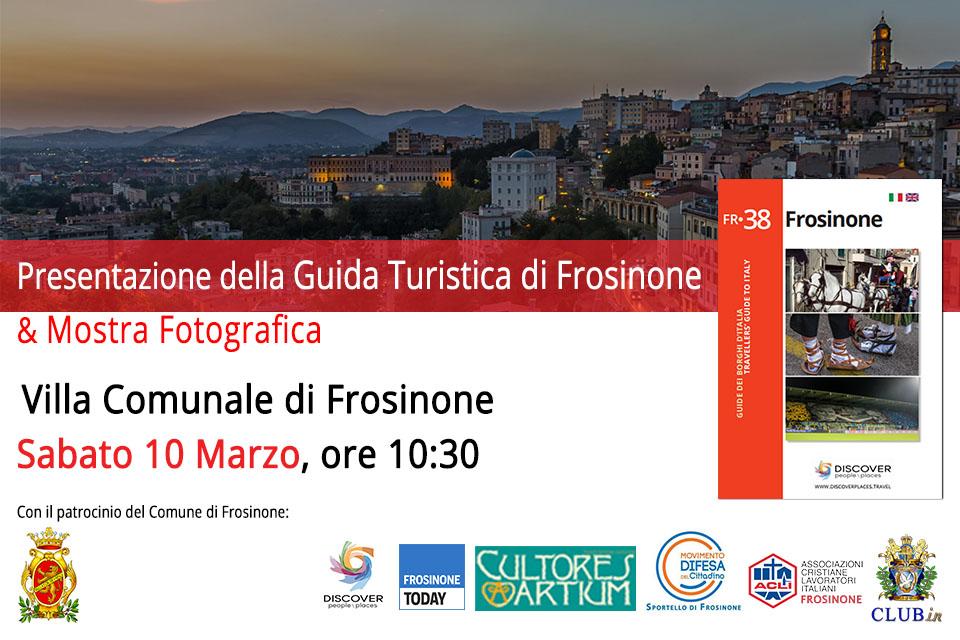 Presentazione Guida Turistica di Frosinone – Sportello MDC Lazio