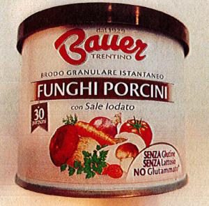 Richiamo per rischio presenza di allergeni  Bauer S.P.A – BRODO GRANULARE ISTANTANEO FUNGHI 120 g