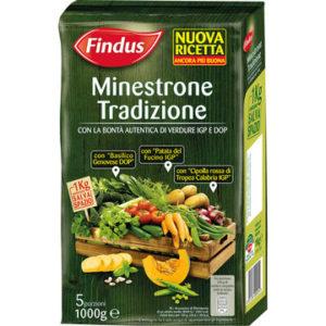Richiamo per rischio  microbiologico Findus – Minestrone tradizione NT 1 kg